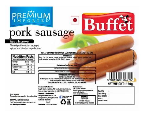 Buffet Pork Sausage - 150 gm