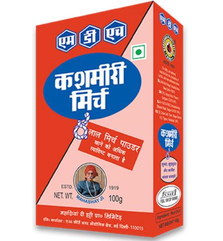 MDH KASHMIRI MIRCH POWDER - 100 g