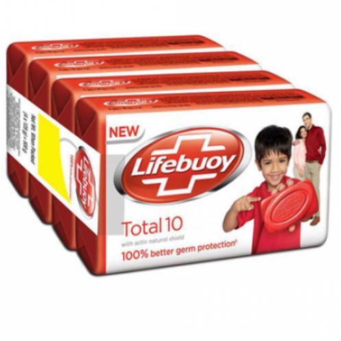 Lifebuoy (3+1 pack) 125 gm each