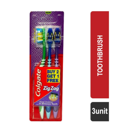 Colgate Zig Zag Toothbrush (Medium)