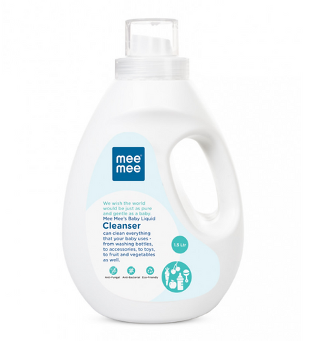 Anti-Bacterial Baby Liquid Cleanser for Fruits, Bottles, Accessories & Toys.