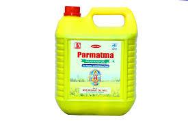Parmatma Mustard Oil - 5 L Jar