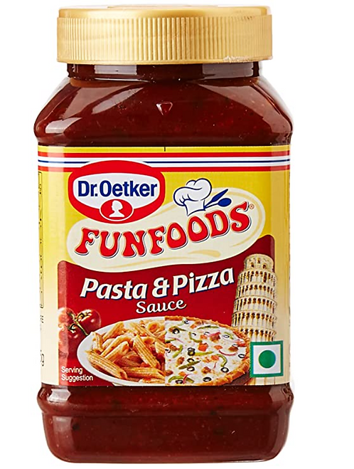 Funfoods Pasta and Pizza Sauce, 325 gm