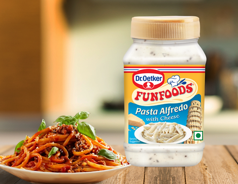 Fun Foods - Pasta Alfredo with Cheese, 275 gm Bottle