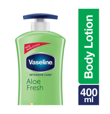 Vaseline Intensive Care Aloe Fresh Body Lotion