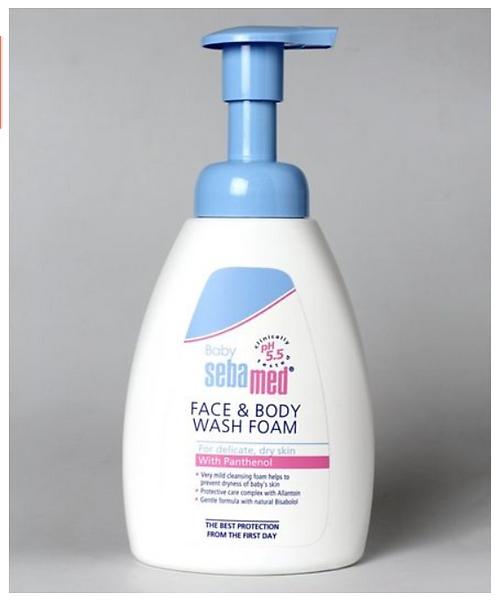 Sebamed Face & Body Foam Wash White - 400 ml