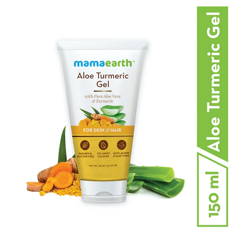 Aloe Turmeric Gel for Skin & Hair  -150ml
