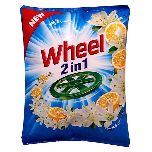 Active Wheel 2 in 1 Clean & Lemon Fresh Detergent Powder 750 gm