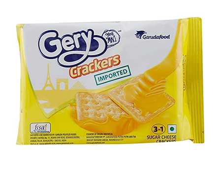 Gone Mad Gery Sugar Cheese Crackers - 110 gm