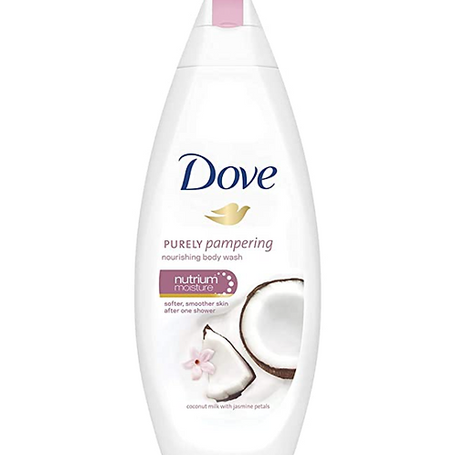 Dove Purely Pampering with Coconut Milk & Jasmine Body Wash, 250 ml