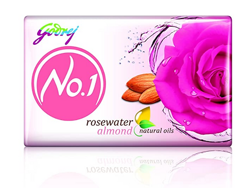 Godrej no.1 Rosewater Almond (Pack of 4)