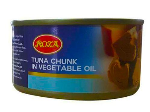 Roza ( Tuna chunk in vegetable oil) 185 gm