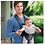Thumbnail: Chicco Ultrasoft Baby Carrier - Black Grey