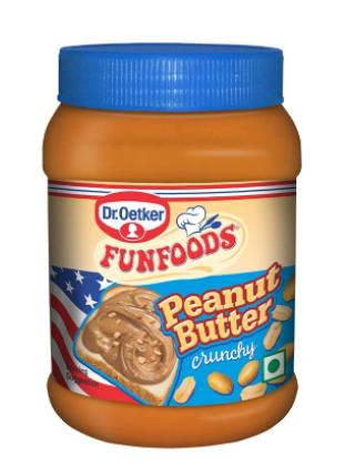 Dr. Oetker FunFoods Crunchy Peanut Butter