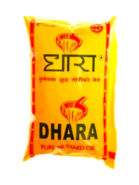 Dhara Mustard Oil - 1 Ltr