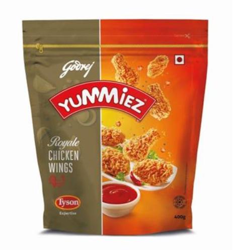 YUMMIEZ ROYALE CHICKEN WINGS 350 gm