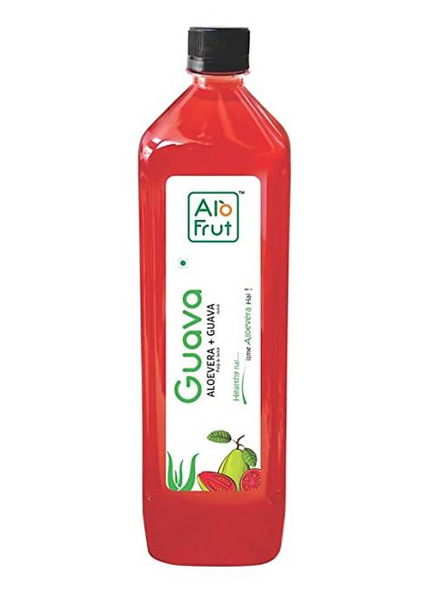 AloFrut Guava with Aloevera Pulp Juice - 1 L
