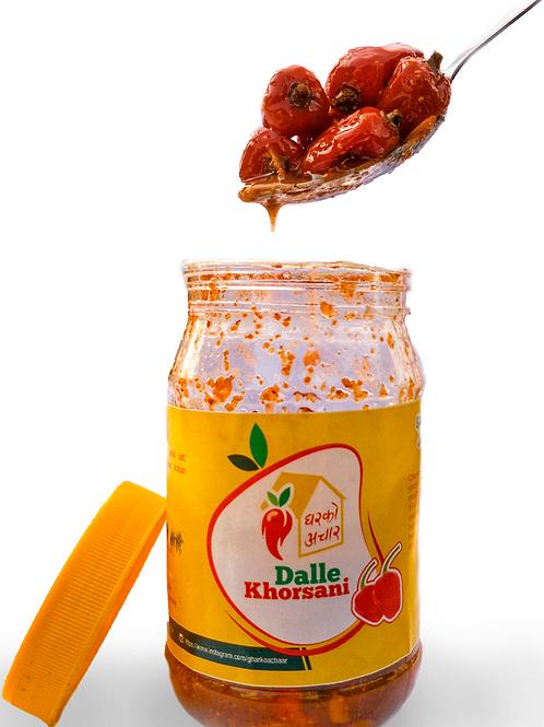 Dalle Khorsani Achar - 250 gm