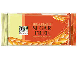 Bisk Farm Sugar Free Cream Cracker - 250 gm
