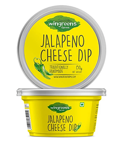 Wingreens Farms Jalapeno Cheese Dip, 150 g