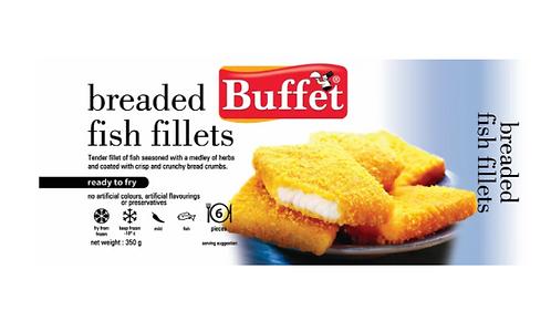 Breaded Fish Fillets - 350 gms