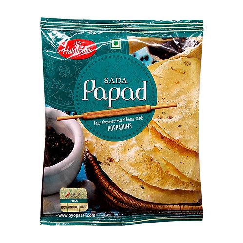 Haldiram's Sada Papad, 180 gm