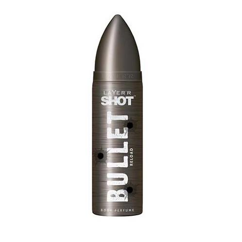 Layer'r Shot Bullet Reload Body Perfume, 120 ml