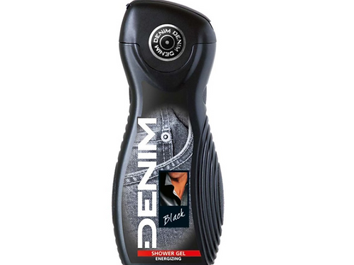 Denim Black Shower Gel, 250 ml