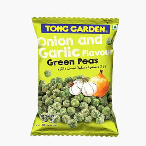 Tong Garden Onion & Garlic Green Peas, 30 gm