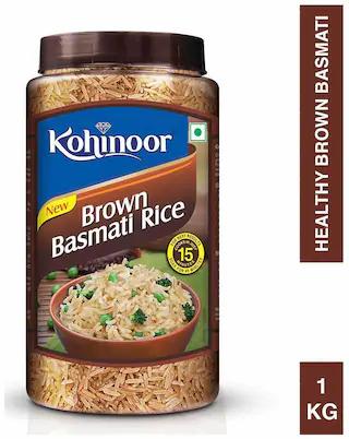 KOHINOOR BROWN BASMATI RICE - 1 Kg