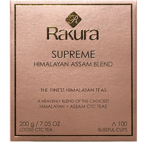Rakura Supreme Himalayan Assam Blend Tea 200 gm