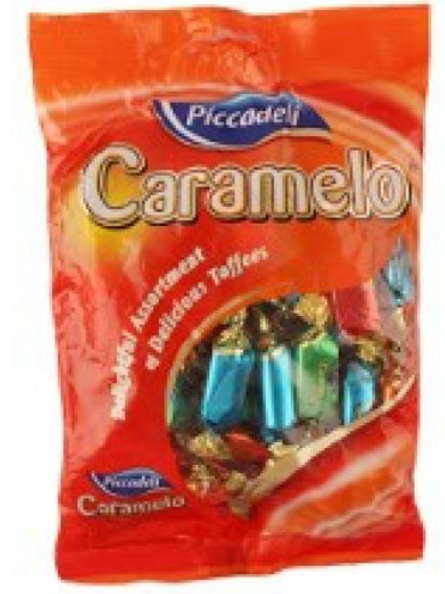 Piccadeli Creams Assorted Toffee with Soft Cream Centers 350 gm
