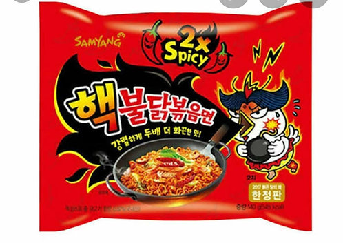 Hot Chicken Ramen 2X Spicy Buldak Noodles - 1 Pack