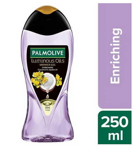 Palmolive Body Wash Luminous Oils Enriching Shower Gel with Coconut & Jojoba Oil