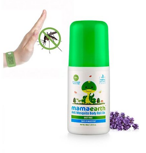 mamaearth Natural Anti Mosquito Body Roll On - 40 ml
