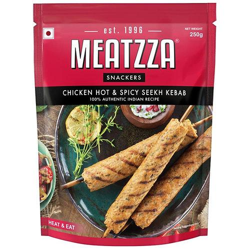 Meatzza Chicken - Seekh Kebab Hot & Spicy 250 g