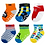Thumbnail: COZY FEET ANTI SKID COTTON BABY SOCKS (PACK OF 6) (COLORS MAY VARY)