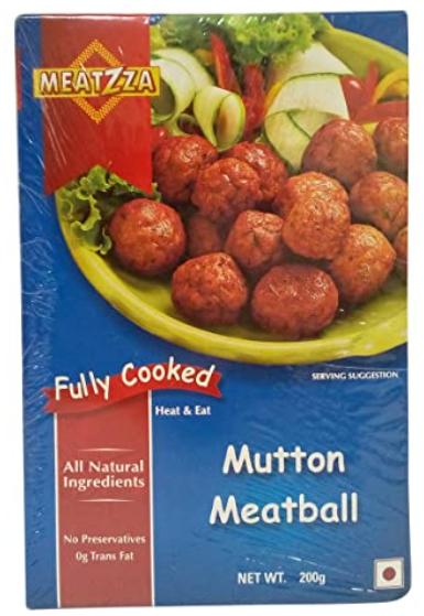 Meatzza  - Mutton Meatball, 200g