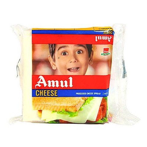 Amul Cheese (Processed Cheese Spread) 10 slices 200gm
