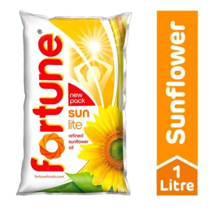 Fortune Sunflower Oil - Refined - 1 L