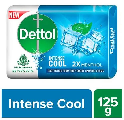 Dettol Intense Cool Germ Protection Bathing Soap Bar - 125 g