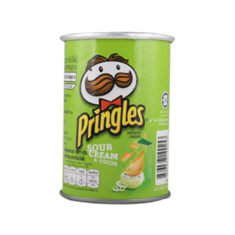 Pringles Sour Cream & Onion Potato Chips - 42 gm