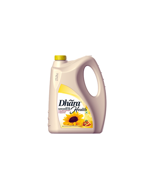 Dhara Sunflower Oil - Refined - 5 L