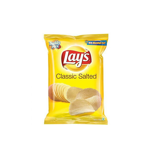 Lay's Classic Salted Potato Chips.