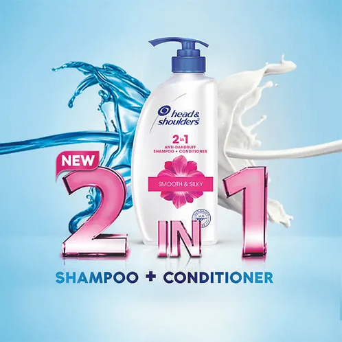 Head and Shoulders 2in1 active protect shampoo and conditioner 340ml