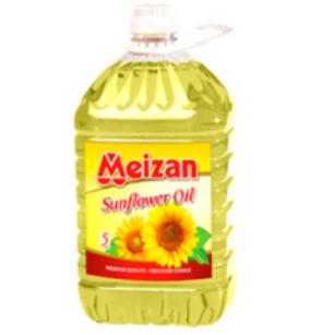 Meizan Sunflower Seed Oil - 5 Ltr Jar