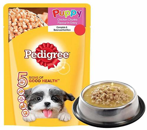 Pedigree Puppy Wet Dog Food Gravy - 80 g