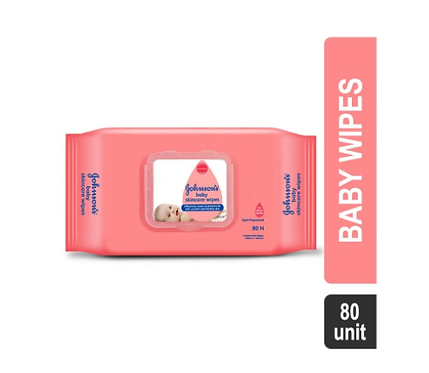 Johnson's Skincare Baby Wipes - 80 Units