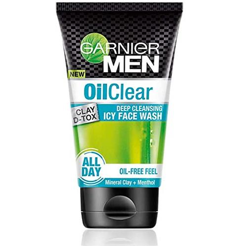 Garnier Men Oil Clear Deep Cleansing Icy Face wash 100 ml