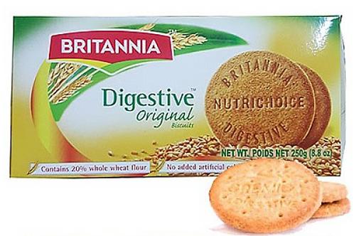 Britannia Digestive Original Biscuits 250 gm